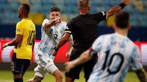 Argentina sin problemas le pudo ganar a Ecuador 3-0