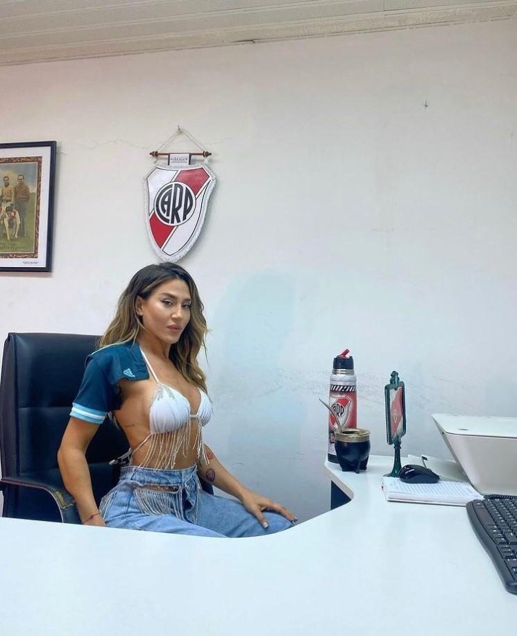El sincericidio de Jimena Barón sobre su show en el partido de Argentina: