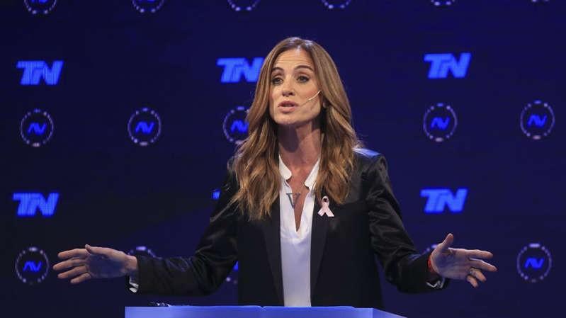 Victoria Tolosa Paz explicó por qué parpadeaba tanto durante el debate