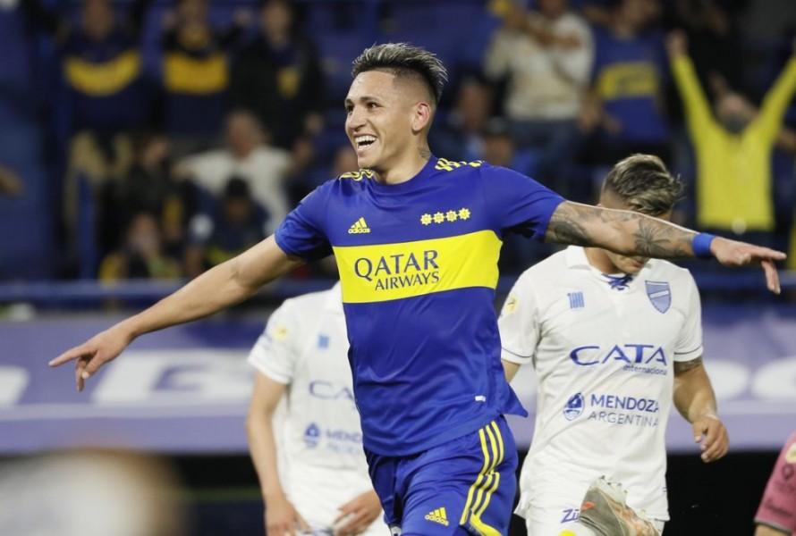 Boca le ganó a Godoy Cruz 2-1 y se prendió arriba